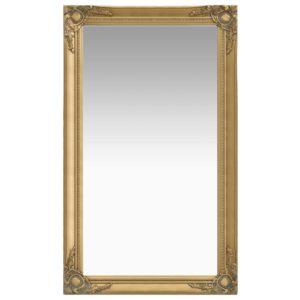 Wandspiegel im Barock-Stil 60 x 100 cm Golden