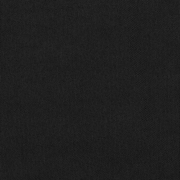 Verdunkelungsvorhänge Haken Leinenoptik 2Stk. Schwarz 140x245cm