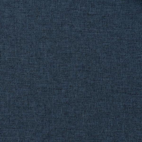 Verdunkelungsvorhänge Haken Leinenoptik 2 Stk. Blau 140x245cm