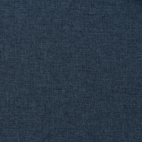 Verdunkelungsvorhänge mit Haken Leinenoptik Blau 290x245cm