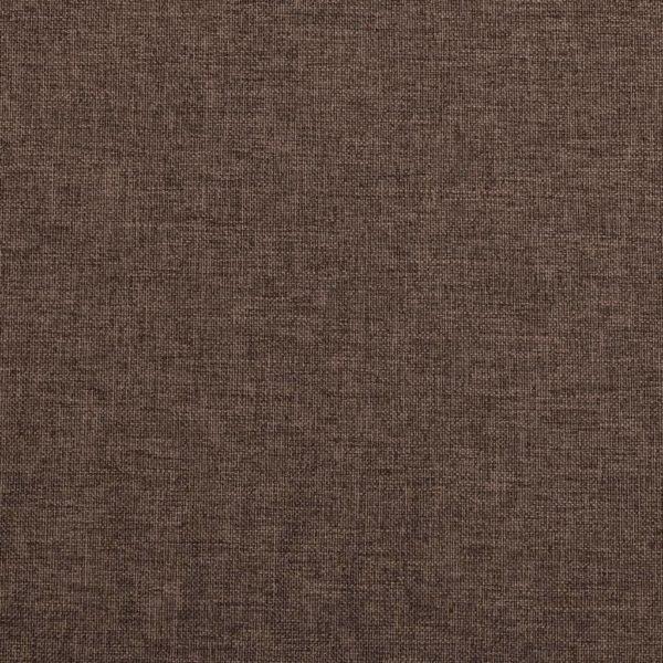 Verdunkelungsvorhänge mit Ösen Leinenoptik Taupe 290×245 cm