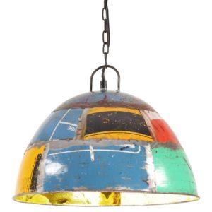 Hängelampe Vintage Industriestil 25 W Mehrfarbig Rund 41 cm E27