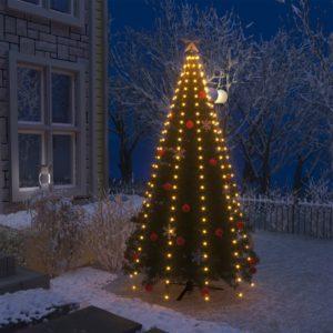 Weihnachtsbaum-Lichternetz mit 250 LEDs IP44 250 cm