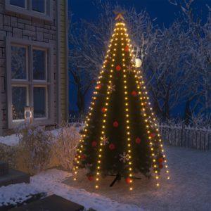 Weihnachtsbaum-Lichternetz mit 300 LEDs IP44 300 cm