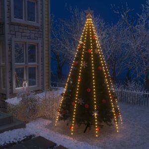 Weihnachtsbaum-Lichternetz mit 400 LEDs IP44 400 cm