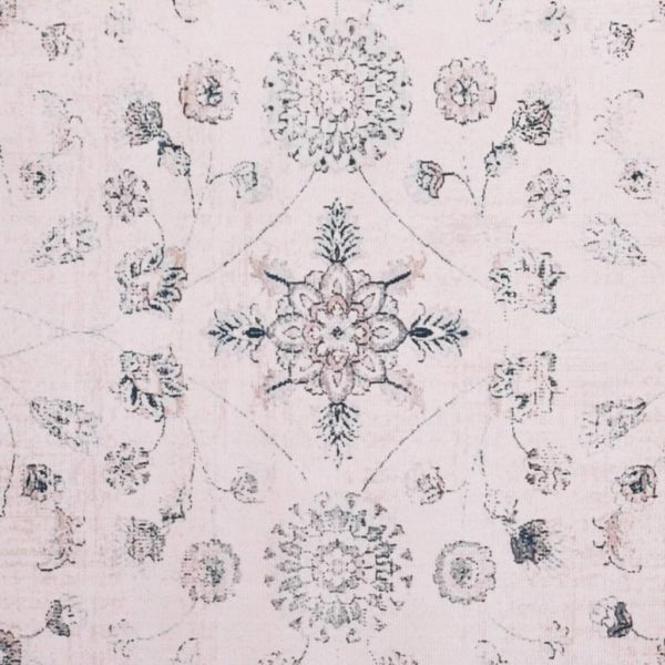 Teppich Bedruckt Mehrfarbig 80×150 cm Stoff