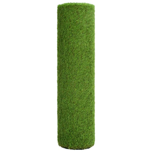 Kunstrasen 1×5 m/40 mm Grün