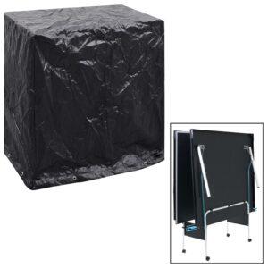 Gartenmöbel-Abdeckung Tischtennisplatte 8 Ösen 160x55x182 cm