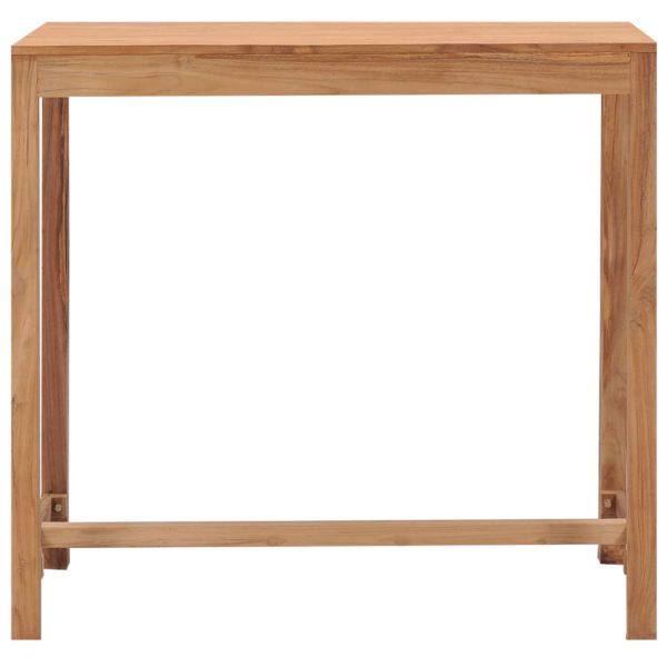 Garten-Bartisch 110×60×105 cm Massivholz Teak