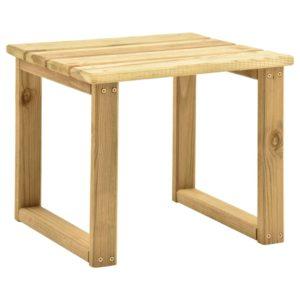 Tisch für Sonnenliege 30x30x26 cm Imprägniertes Kiefernholz