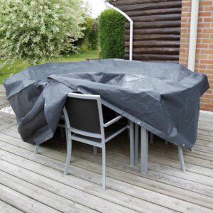 Nature Gartenmöbel-Abdeckung für Runden Tisch 118×70 cm