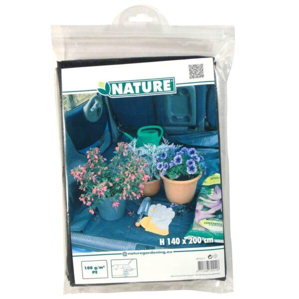 Nature Schutzplane für Kofferraum 200×140 cm