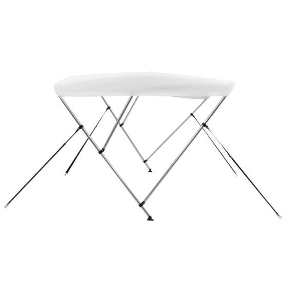 3-Bow Bimini Top Weiß 183 x 180 x 140 cm