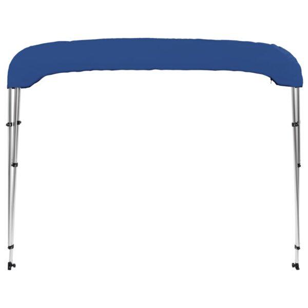 3-Bow Bimini Top Blau 183 x 140 x 140 cm