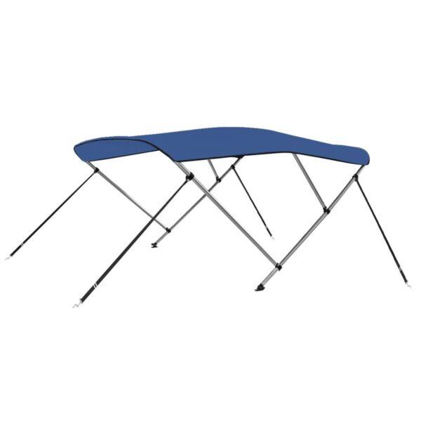 3-Bow Bimini Top Blau 183 x 160 x 140 cm