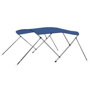 3-Bow Bimini Top Blau 183 x 180 x 140 cm