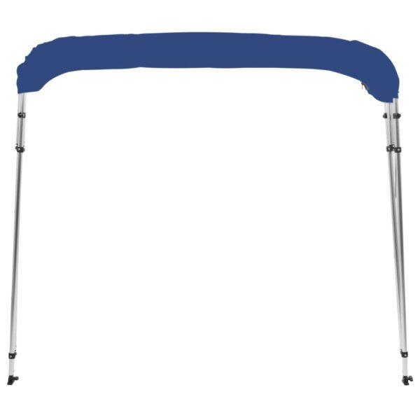 4-Bow Bimini Top Blau 243x180x117 cm