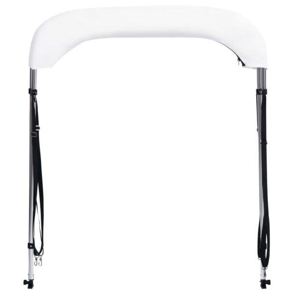 2-Bow Bimini Top Weiß 180x130x110 cm