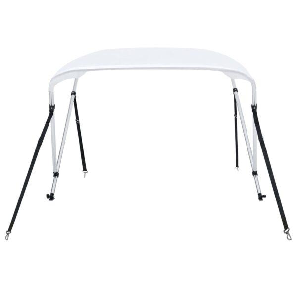 2-Bow Bimini Top Weiß 180x150x110 cm