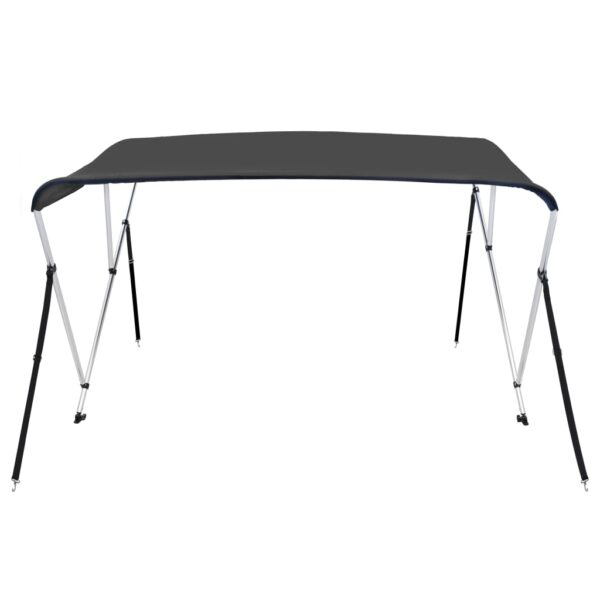 3-Bow Bimini Top Anthrazit 183x140x137 cm