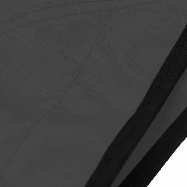 3-Bow Bimini Top Anthrazit 183x160x137 cm