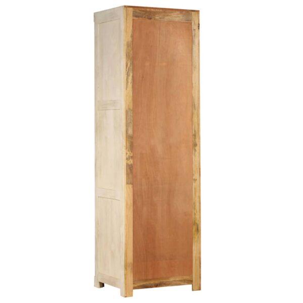 Kleiderschrank Mangoholz Massiv 60 x 50 x 200 cm