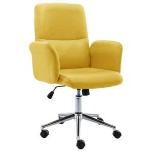 Bürostuhl Stoff Gelb