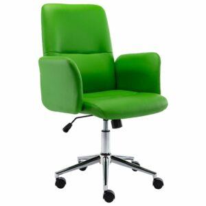 Bürostuhl Kunstleder Grün