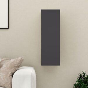 TV-Schrank Grau 30,5x30x90 cm Spanplatte