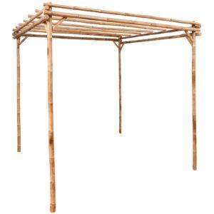 Pergola Bambus 170×170×220 cm