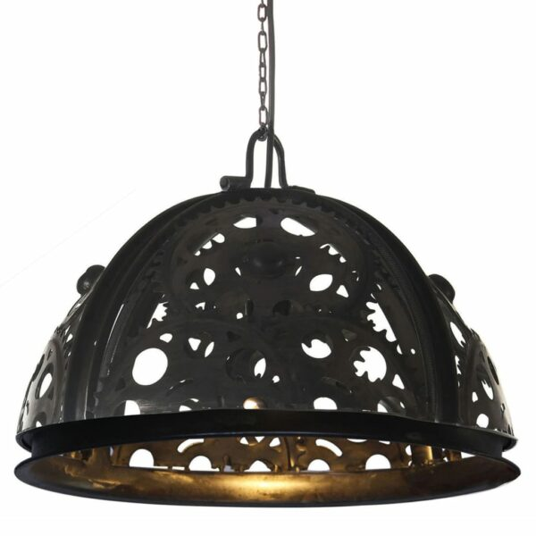 Deckenlampe Industriestil Kettenrad-Design 45 cm E27