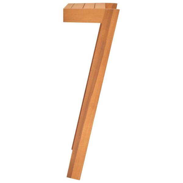 Handtuchhalter 2 Stk. Massivholz Teak