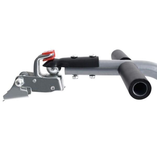 Fahrrad-Lastenanhänger Faltbare Transportbox 50 L Grau 150 kg