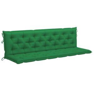 Auflage für Hollywoodschaukel Grün 200 cm Stoff