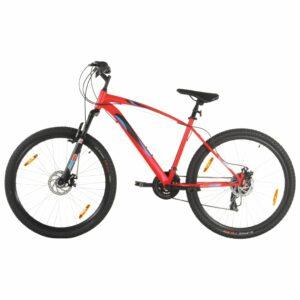 Mountainbike 21 Gang 29 Zoll Rad 48 cm Rahmen Rot